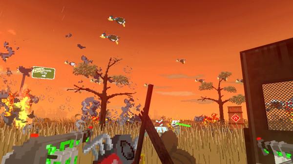打鸭子VR 游戏截图