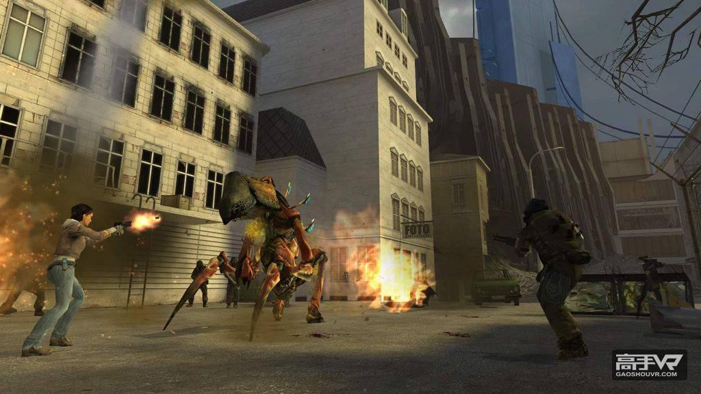 有位国外玩家竟然开发出了VR模式的Half-Life……