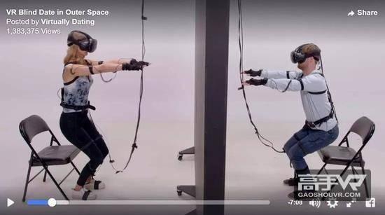Facebook联手娱乐公司打造VR约会真人秀节目