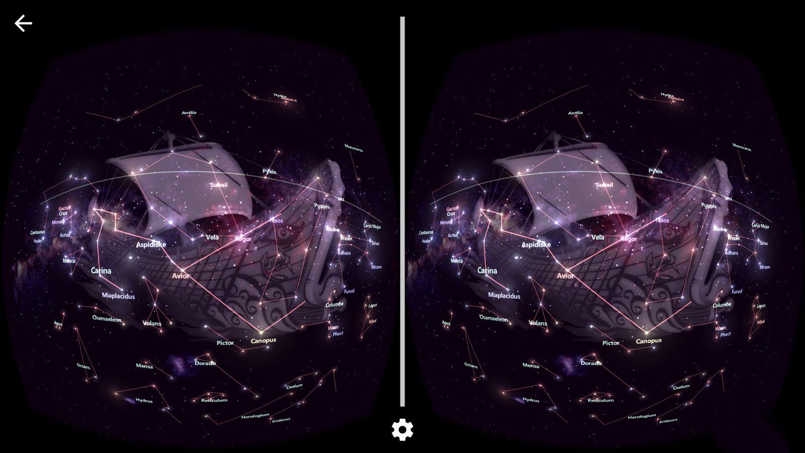 星座探索VR 太阳城赌城官方首页截图