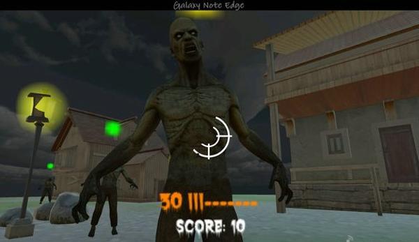 僵尸入侵VR 游戏截图