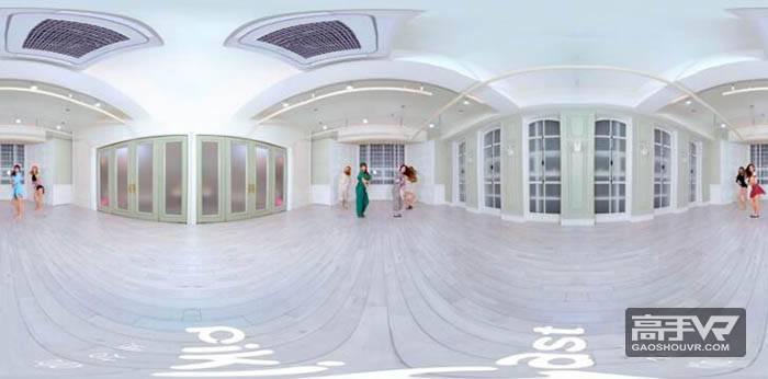 长腿妹子换装舞蹈版3D全景VR视频