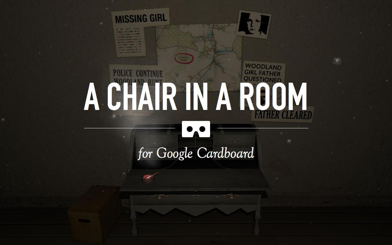 房间中的椅子VR 游戏截图