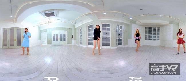 一群漂亮妹纸当面换装尬舞!【2K高清VR视频下载】