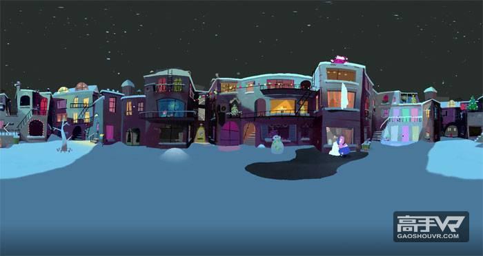 谷歌圣诞VR动画-特殊快递VR视频