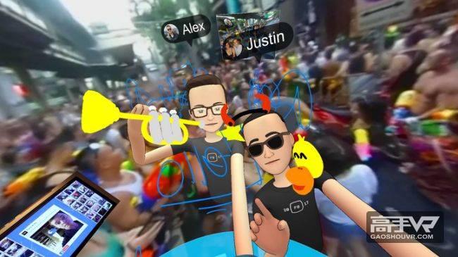 我尝试了Facebook的VR社交,然而我并没有搞懂这是什么鬼