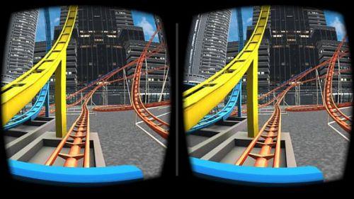 3D过山车游戏截图-1