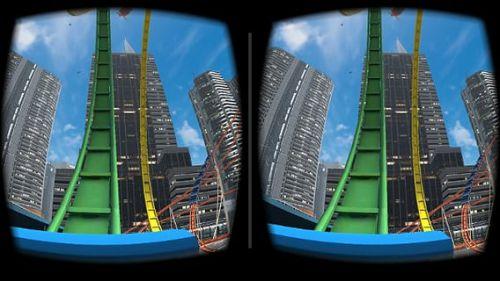 3D过山车游戏截图-2
