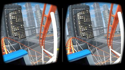 3D过山车游戏截图-3